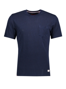 Superdry T-shirt M10001OO LOON CITY TEE Real Indigo Dot