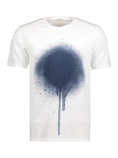 Only & Sons T-shirt onsDOUGLAS WASHED PRINTED O-NECK EX 22006682 Blanc de Blanc