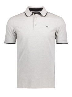 JPRPAULOS POLO SS NOOS 12091243 Light Grey/ Mixed With