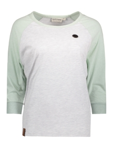 Naketano T-shirt 1701-0054-820 Grey Milky