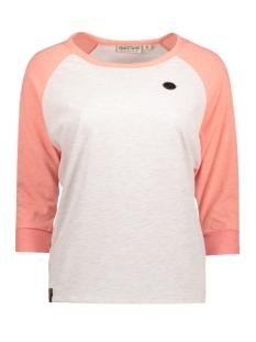 Naketano T-shirt 1701-0058-830 Oma Coral