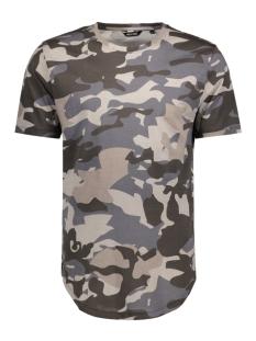Only & Sons T-shirt onsMACK SS LONGY TEE 22007003 Phantom