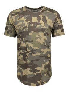 Only & Sons T-shirt onsMACK SS LONGY TEE 22007003 Olive Night