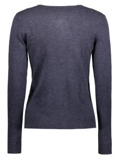 onlbella l/s button cardigan knt 15121982 only vest night sky