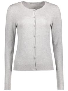 Only Vest onlBELLA L/S BUTTON CARDIGAN KNT 15121982 Light Grey Melange