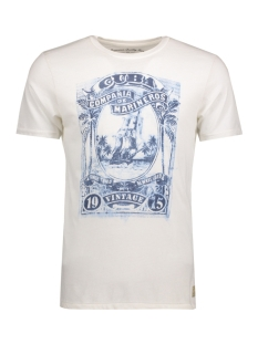 Jack & Jones T-shirt JJVHARRY SS TEE CREW NECK 12116506 Cloud Dancer