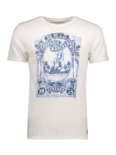 Jack & Jones T-shirt JJVHARRY SS TEE CREW NECK 12116506 Cloud Dancer
