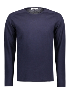 Jack & Jones Trui JPRMARVIN KNIT CREW NECK 12117790 Maritime Blue