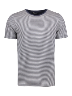 Jack & Jones T-shirt JPRJAQ TEE SS CREW NECK EXP 12126836 Jet Stream/White