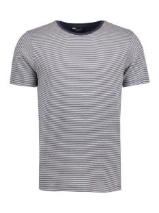 Jack & Jones T-shirt JPRJAQ TEE SS CREW NECK EXP 12126836 Jet Stream/White