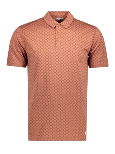 Only & Sons Polo onsDANIEL AOP POLO EXP 22007340 Copper Brown
