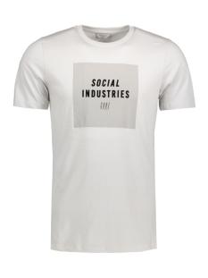 Jack & Jones T-shirt JCOEVIDENT TEE SS CREW NECK 12120433 Oyster Mushroom