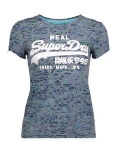 Superdry T-shirt G10011XNF1 VINTAGE LOGO 11S NAVY