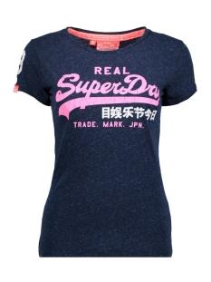 Superdry T-shirt G10651ANDR VINTAGE LOGO TKL NAVY