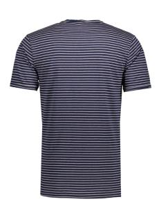 onsalbert stripe ss slim tee noos 22006398 only & sons t-shirt dress bluess/shadow grey
