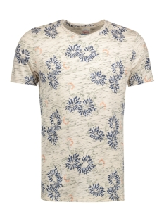 Jack & Jones T-shirt JORCATALINA TEE SS CREW NECK 12120929 Cloud Dancer/ Slim