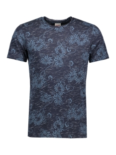 Jack & Jones T-shirt JORCATALINA TEE SS CREW NECK 12120929 Total Eclipse/ Slim