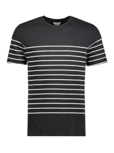 Jack & Jones T-shirt JCOJOIN TEE SS CREW NECK 12120484 Black/ Slim