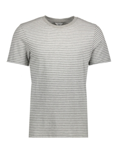 Jack & Jones T-shirt JCOJOIN TEE SS CREW NECK 12120484 Light Grey Melange/ Slim