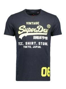Superdry T-shirt M10002SOD1 SHOP FADE 98T ECLIPSE NAVY