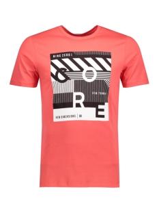 Jack & Jones T-shirt JCOBOOSTER TEE SS CREW NECK 004 12128483 Cayenne