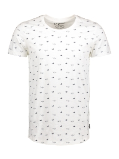 Jack & Jones T-shirt JORBASSEN TEE SS CREW NECK 12125749 Cloud Dancer