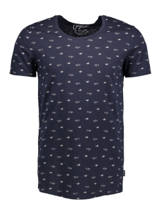 Jack & Jones T-shirt JORBASSEN TEE SS CREW NECK 12125749 Total Eclipse