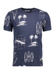 Only & Sons T-shirt onsSOL SS FITTED TEE 22006547 Dress Blue
