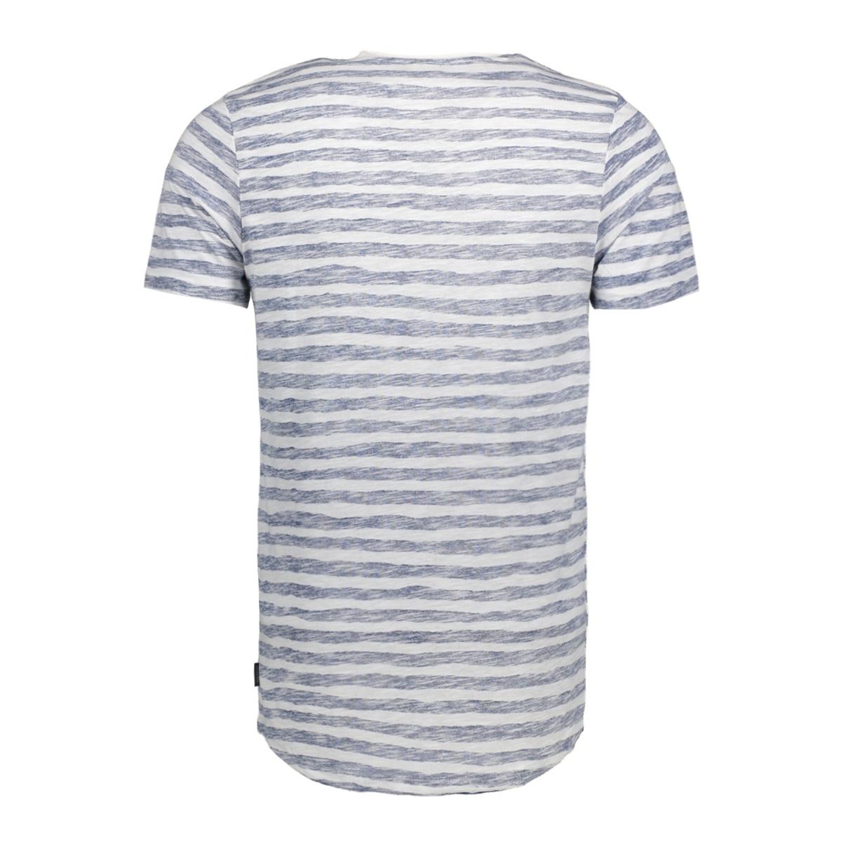 jorreverse tee ss crew neck 12121140 jack & jones t-shirt ensign blue