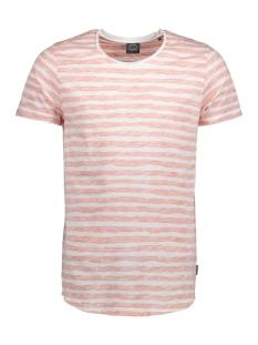 Jack & Jones T-shirt JORREVERSE TEE SS CREW NECK 12121140 Coral Hazel
