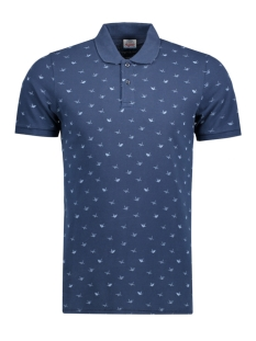 Jack & Jones Polo JORRODEO POLO 12120944 Total Eclipse