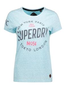 Superdry T-shirt G10038XO BKO (AQUAMARINE)