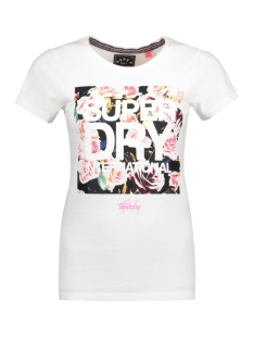 Superdry T-shirt G10008XODS 01C (OPTIC)