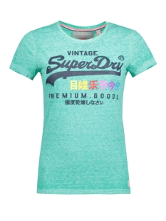 Superdry T-shirt G10040XO ZCS (FOAM GREEN)