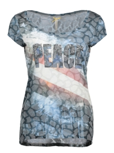 Key Largo T-shirt WT00008 Jeans Blue