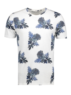 Only & Sons T-shirt onsTHAT SS FITTED FISHTALE TEE 22005416 Bright White Blue