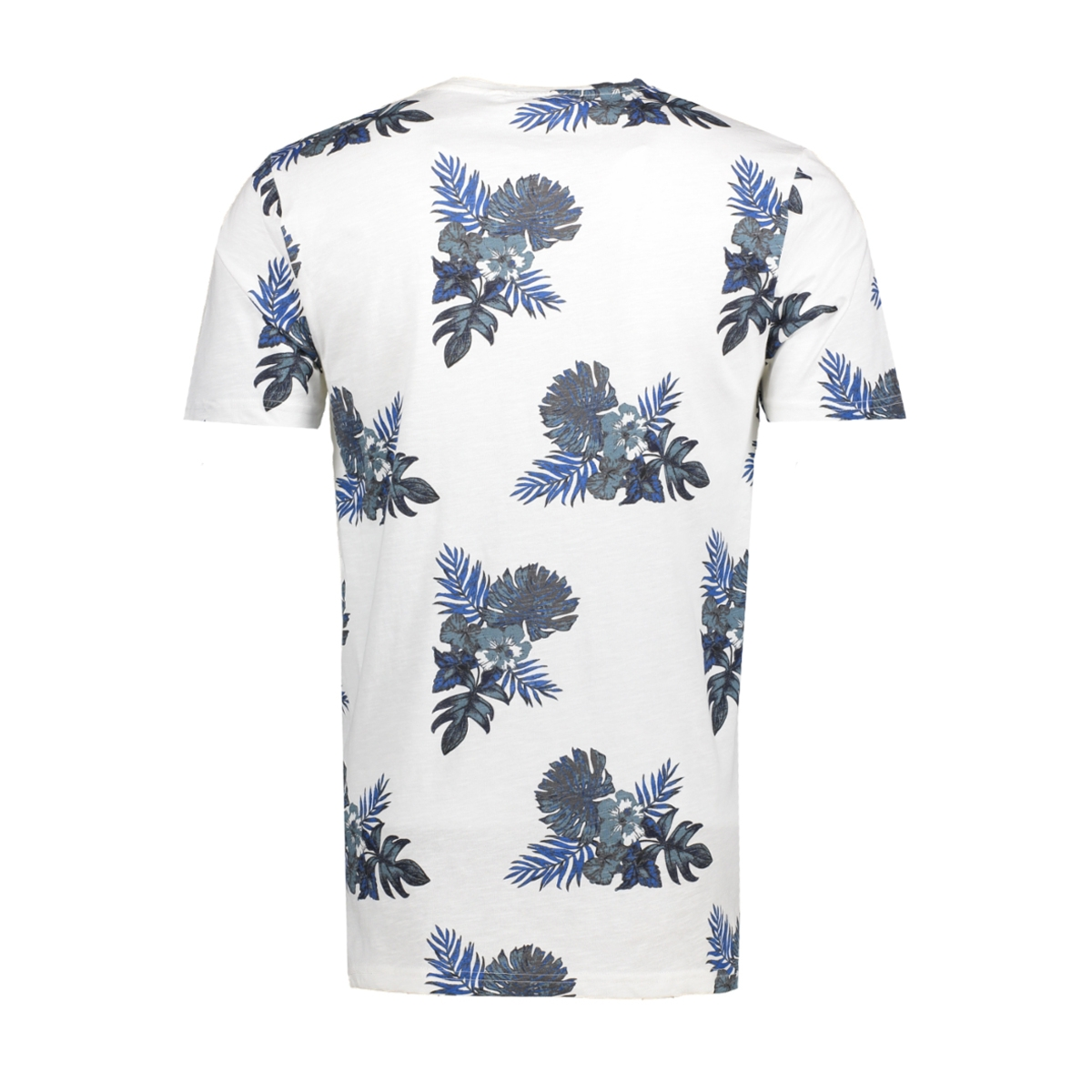 onsthat ss fitted fishtale tee 22005416 only & sons t-shirt bright white blue
