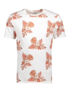 onsTHAT SS FITTED FISHTALE TEE 22005416 Bright White Brunt