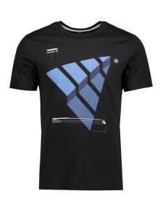 Jack & Jones T-shirt JCOBOOSTER TEE SS CREW NECK 005 12129674 Black