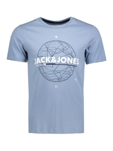 Jack & Jones T-shirt JCOBOOSTER TEE SS CREW NECK 005 12129674 Fadded Denim