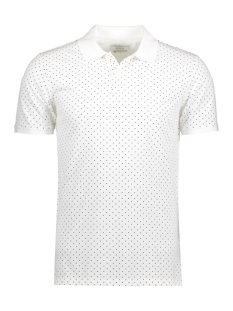 Jack & Jones Polo JPRWILLIAM POLO SS 12121682 Blanc de Blanc
