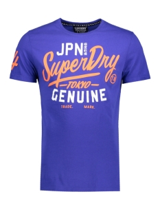 Superdry T-shirt M10031XOL1 TICKET MDRN AC7