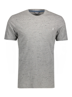 Jack & Jones T-shirt JCOINJECT TEE SS CREW NECK 12120486 Light Grey Melange/ Slim