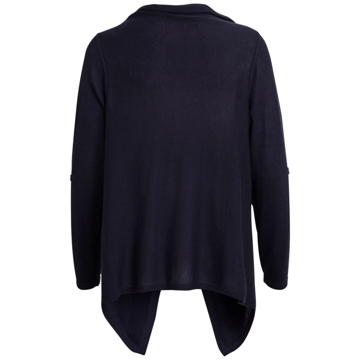 objdeanna light knit cardigan noos 23025313 object vest sky captain