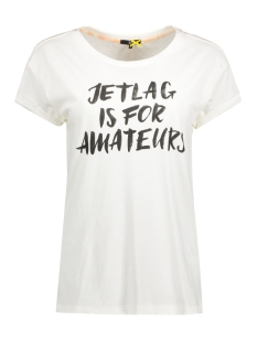 DEPT T-shirt 31101109 10123 Airplane White