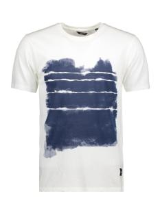 Only & Sons T-shirt onsINGMAR WASHED O-NECK EXP 22007716 Blanc de Blanc