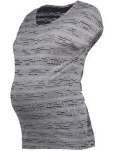 Mama-Licious Positie shirt MLRIKKI S/S JERSEY TOP 20007458 Ombre Blue