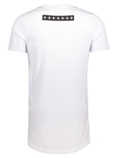jcohybrid tee ss crew neck 12131700 jack & jones t-shirt white/slim