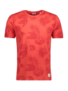 Only & Sons T-shirt onsNICCOLO AOP O-NECK EXP 22008151 Poppy Red