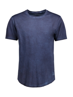 Only & Sons T-shirt onsMATT SS LONGY OIL FITTED TEE 22006402 Dress Blues